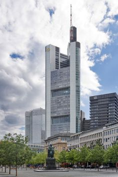 First entry from Europe Commerzbank Tower currently the tallest in the EU