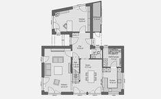 Haas Haus - Musterhaus J 142 in Bad Vilbel bei Frankfurt