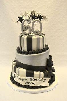 White Birthday Cakes, Novelty Birthday Cakes, 60th Birthday Cakes, Birthday Cake Girls, Birthday Bash, Birthday Greetings For Kids, 21st Cake, Silver Cake, Cake Images