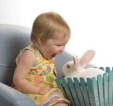 I wish I knew someone who had a sweet, fluffy bunny to loan out for Easter pictures