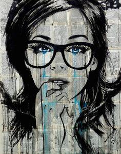 "Saatchi Art Artist LOUI JOVER; Drawing, ""crystal"" #art"