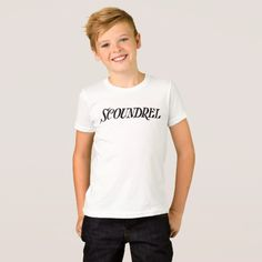 Scoundrel - Let the world know your up to no good T-Shirt
