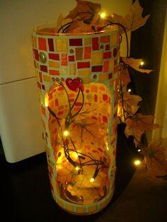 Mosaik  - Lichtsäule   von Mosaikhandwerk auf DaWanda.com