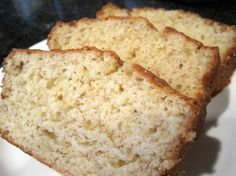 BANANA BREAD--DAIRY, EGG, NUT FREE