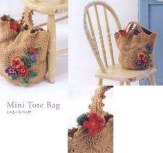 Mini Tote Bag / 코바늘 미니토트백 도안