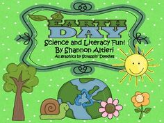 In this Earth Day Unit, you will find 14 science and literacy activities that focus on keeping our Earth GREEN! Recycle Sort: Students will sor...