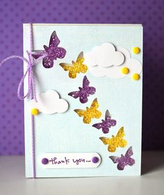 Thank You card by Queen & Co.