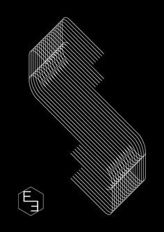 Seventeen Lines by Simone Mariano, via Behance