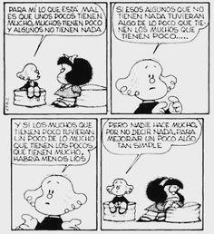 Nunca falta el que se complica  #mafalda #comic #photo #follow4follow #humor #historieta by prisilla.diaz