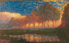 Piet Mondriaan, Bomen aan het Gein, 1907-1908,