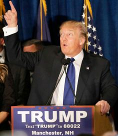 Trump, Sanders win New Hampshire primaries; Kasich claims second New York Post, New Hampshire, Manchester, Events, News