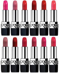 Dior Fall 2016 - Makeup Collection:  Dior Couture Lipsticks