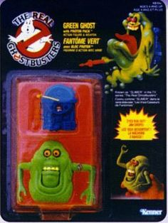 THE REAL GHOSTBUSTERS SLIMER ACTION FIGURE