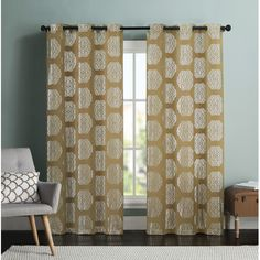 Found it at Wayfair - Mayra Curtain Panel