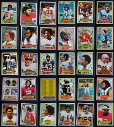 1980 Topps Football Cards Complete Your Set You U Pick From List 401-528 #Single