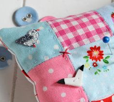 Helen Philipps pin cushion