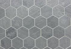 Royal Black Matte 2x2 Hexagon Mosaic Shipping Charges Apply Bathroom Ideas Hex Tile And Bathroomlight Grey Floor  Dark
