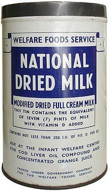 Household Milk – thewartimekitchen.com