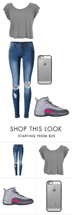 """""""Untitled #25"""" by juliee-da-baddiee ❤ liked on Polyvore featuring WithChic and Belkin"""