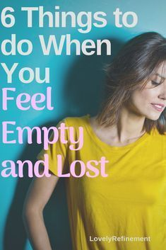 We all feel lost sometimes in our lives. That just means you have to look a little deeper at yourself, and figure out what matters most. Here's how to find yourself when you're feeling lost & unmotivated. Feeling Empty, Feeling Lost, Feeling Stressed, How Are You Feeling, When You Feel Lost, Lost In Life, Lost Quotes, Overcoming Depression, Finding Happiness