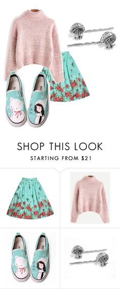 """""""take me out"""" by oh-blue on Polyvore featuring WithChic and HVBAO"""