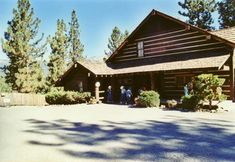 The Ponderosa Ranch House up at Lake Tahoe, CA.