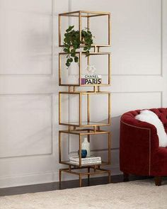 Shop Modernist Cube Etagere from John-Richard Collection at Horchow, where you'll find new lower shipping on hundreds of home furnishings and gifts. Home Decor Furniture, Luxury Furniture, Living Room Furniture, Home Furnishings, Living Room Decor, Furniture Design, Bedroom Decor, Modern Furniture, Antique Furniture
