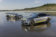 Mercedes-AMG C63 Coupe Edition 1 and DTM
