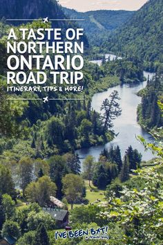 A road trip through northern Ontario, one of the best ways to travel Canada. Quebec, Toronto, Places To Travel, Travel Destinations, Travel Tips, Ontario Travel, Canadian Travel, Canadian Rockies, Montreal
