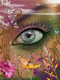 Eye Art... By Artist Unknown...