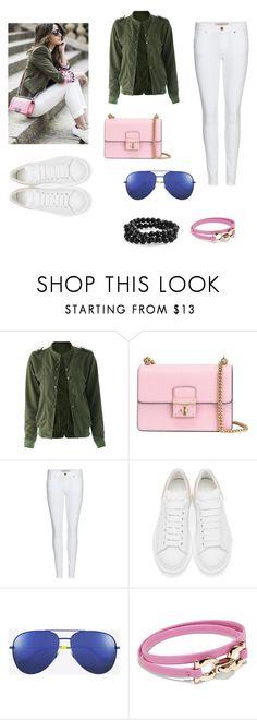 """Get the look#1"" by viviiiiiii ❤ liked on Polyvore featuring Dolce&Gabbana, Burberry, Alexander McQueen, Yves Saint Laurent, Salvatore Ferragamo and Bling Jewelry"