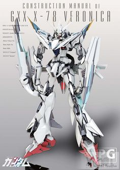 GUNDAM GUY: Gundam Artwork by Masarebelth: GXX X-78 Veronica Gundam & Others