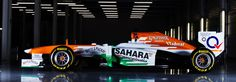 Sahara Force India unveils the VJM06 at Silverstone #F1 #Formula1 #F1Online