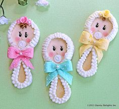 Look at these cutie pies! From Dainty Delights