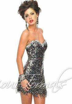 Precious Formals C10505 at Prom Dress Shop on Wanelo