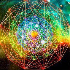 Universe of Color in Sacred Geometry Sacred Symbols, Sacred Art, Fractal Art, Fractals, Divine Proportion, Mudras, All Nature, The Draw, Flower Of Life