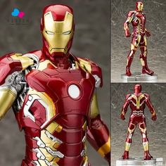 87.23$  Buy here - http://alinrg.worldwells.pw/go.php?t=32625987187 - Kissen Age of Ultron Iron Man MK43 Action Figure 1/5 scale painted figure Iron Man MK43 Doll PVC  Figure Toy