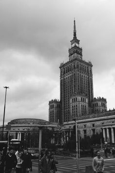 Cloudy Warsaw