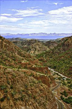 From the mountain to the sea to the island - Loreto, BCS, Mexico