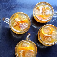 Holiday Punch and Cocktails for A Crowd - 34 festive punch recipes for a crowd, from the ultimate eggnog to a chilled gingery cider.