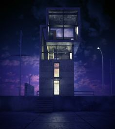 Ando 4x4 House - Vooraanzicht Paarseffect