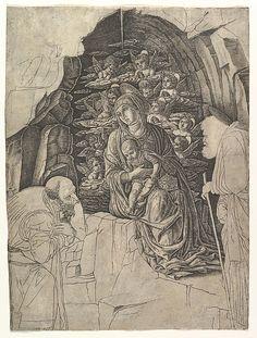 The Adoration of the Magi, Artist: After school of Andrea Mantegna (Italian, Isola di Carturo 1430/31–1506 Mantua) Date: ca. 1475–80