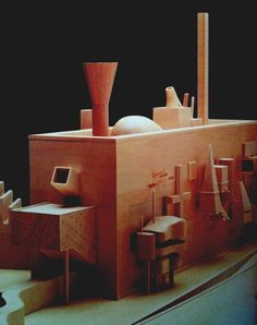 A repository for art and architecture. John Hejduk, Peter Eisenman, Architecture Models, Martin Parr, Uni, Illusion, Cathedral, Objects, Study