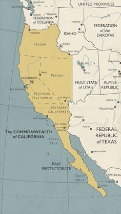 of California by Commonwealth of California by Europe political map poster A Clever Map of Great Britain That Plots Fictional Locations From Film, Television and Literature The Commonwealth of California by World Map of Social Networks vs Sea of Galile Map Of Great Britain, Republic Of Texas, California Republic, Litchfield National Park, Los Angeles San Diego, Imaginary Maps, Twin Falls, Fantasy Map, Alternate History