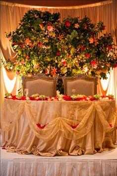~Wedding: Sweetheart Table Ideas