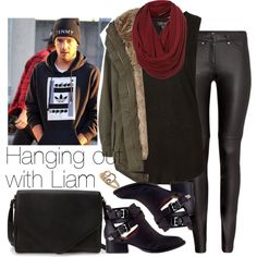 Hanging out with Liam