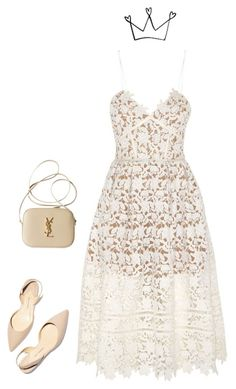 """Princess"" by its-teoz ❤ liked on Polyvore featuring Paul Andrew, Yves Saint Laurent and Halloween"