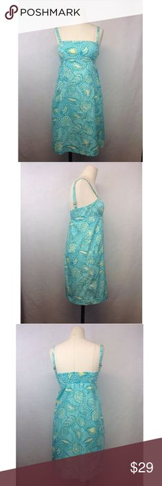 Lilly Pulitzer Seashell Spaghetti Strap Dress Lilly Pulitzer Seashell Spaghetti Strap Dress-Size 0 Lilly Pulitzer Dresses Midi