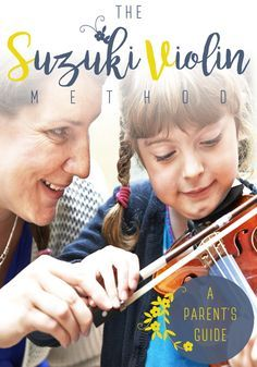 Have you wondered what the Suzuki Violin Method is all about? See this comprehensive parent guide with all questions answered-what to expect, what the best age for your child to start lessons is, as well as extra tips for music making for kids.
