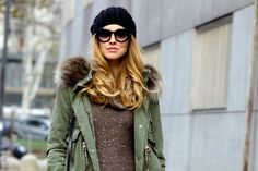 The Blonde Salad - http://www.theblondesalad.com/2012/11/knitted-dress-and-parka.html